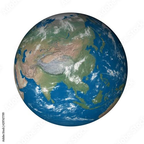 Plexiglas planète terre