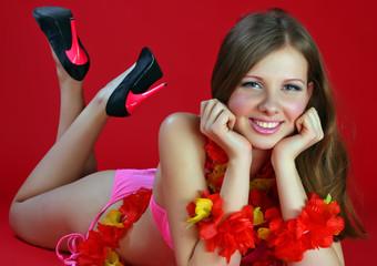 Aloha Bikini Girl