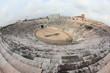 fisheye view of ancient arena of Verona,