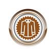 chemise vêtement textile logo picto web icône design symbole