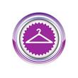 cintre pressing linge logo picto web icône design symbole