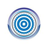 cible client tir but logo picto web icône design symbole