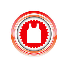 textile vêtement débardeur logo picto web icône design symbole