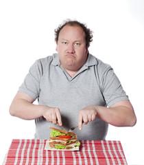 obésité et régime masculin