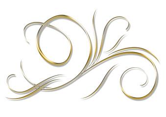 arabesque en or