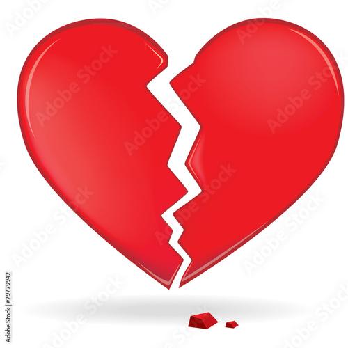 Coeur brisé !