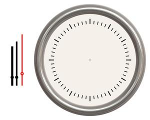 Orologio con lancette separate