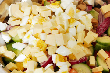 Mediterranean or Greek salad