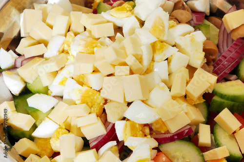 Mediterranean or Greek salad