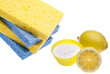 Natural Cleaning with Lemons, Sponges and Baking Soda