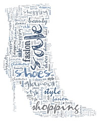 Shoes wordcloud