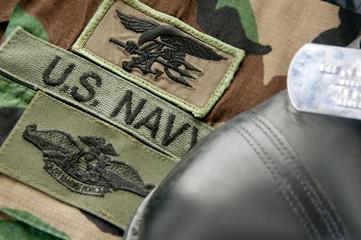 Uniform of Navy SEAL