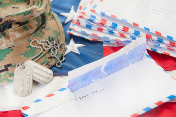 Military love letters