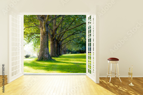canvas print picture Summertime Jazz