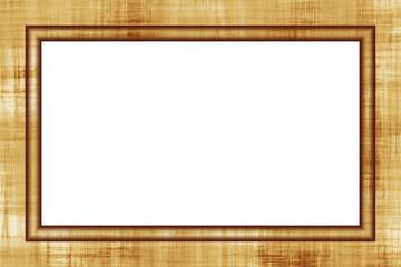 Cornice di legno rettangolare per paesaggio