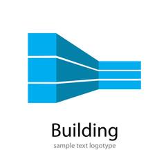 Logo building # Vector