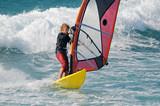 Fototapety Windsurf-Teen