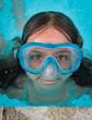 baignade avec masque