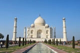 tajmahal india wide view