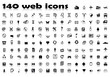 140 web icons