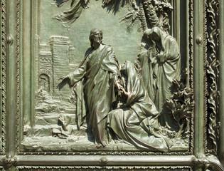 Bassorilievo del portale del Duomo di Milano