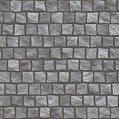 Muro di pietra e cemento