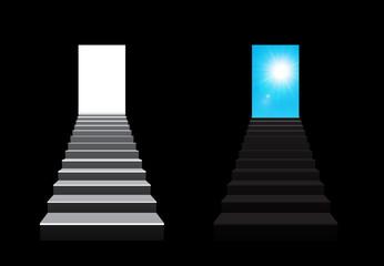 staircase illustration