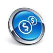 icône bouton internet dollar argent finance