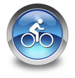 "Glossy Pictogram ""Bicycle Symbol / Bicycle Trail"""