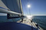 Fototapeta wodniactwa - załoga - Jacht