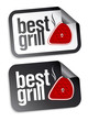 Best grill food stickers.