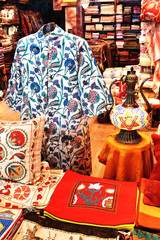 Caftan on display at Grand Bazaar