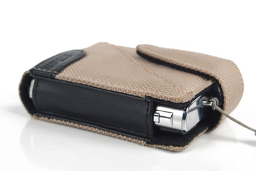 Digital camera in bag