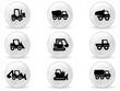 Web buttons, Construction machines