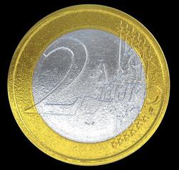 2 Euro coin: European currency