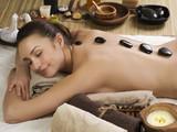 Spa. Stone massage. Dayspa poster