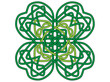 Four-leaf clover, vector ornament