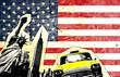 Fototapeten,amerika,new york city,fahne,american