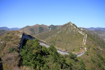 the original ecology of the great wall pass
