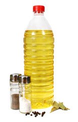 sunflower seed oil and seasonings for preparation of meal