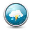 Symbole vectoriel météo orage 02