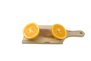 arance sul tagliere