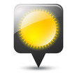 Symbole vectoriel météo soleil 03