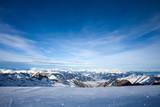 View from Kitzsteinhorn peak, Alps