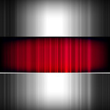 Fototapety Abstract background, metallic and red, vector.