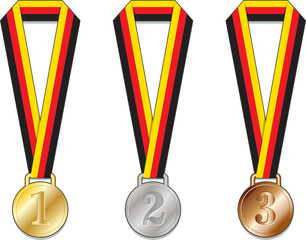 Germania Germany medaglie medaglia