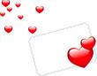 Carte pour la saint valentin