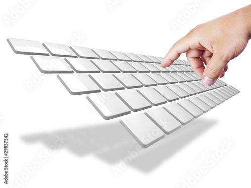 tastiera stilizzata