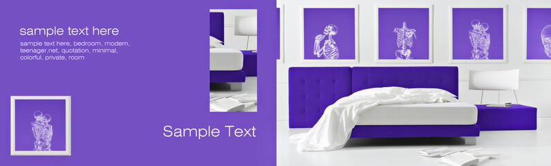 gothic purple bedroom background