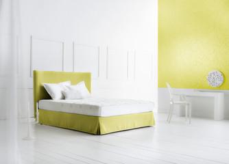 minimal bedroom interiors